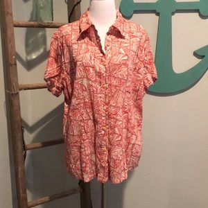 Coldwater Creek button up blouse
